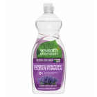 Seventh Generation Dish Liquid Soap Natural Lavender Scent 739 mL