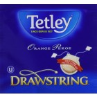 Tetley Tea Orange Pekoe Black Tea 100 Drawstring Tea Bags
