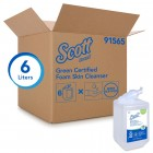 Scott Green Certified Foaming Hand Soap Unscented 1 Litre / 6 Pack