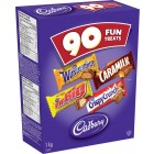 Cadbury Fun Treats Mini Chocolates - 90/Pack