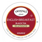 Twinings Decaffeinated English Breakfast Tea Keurig K-Cups 24 ct