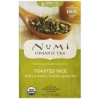 Numi Organic Tea Toasted Rice Full Leaf Sencha Green Tea 18 ct