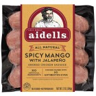Aidells Smoked Chicken Sausage - Spicy Mango with Jalapeno - 3 Pack/380 Grams