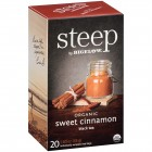 Bigelow Steep Organic Sweet Cinnamon Black Tea - 20/Box