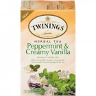Twinings Tea Peppermint & Creamy Vanilla 20 pk