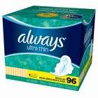 Always Ultra Thin Pads - Regular - 96 Pack