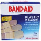 Band-Aid ComfortFlex Plastic Bandage Assortment 60pk