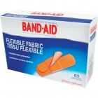 Band-Aid Flexible Fabric Bandages Assortment - 80pk