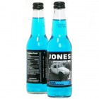 Jones Cane Sugar Soda - Blue Bubblegum - 12/355mL