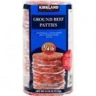 Kirkland Signature Lean Beef Burger Patties - 24 Pack/113 Grams