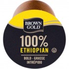 Brown Gold 100% Ethiopian Coffee RealCups 24/Box