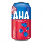 AHA Sparkling Water - Blueberry + Pomegranate - 12 Pack/355 mL