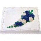 Sheet Cake - White Cake With White Icing - Special Order