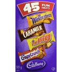 Cadbury Assorted Fun Treats Chocolates 45 Pack