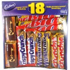 Cadbury Variety Chocolate Bars 18pk