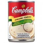 Campbells Condensed Cream of Mushroom Soup 12/284mL