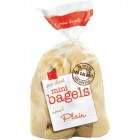 Mini Bagels - Plain - 10pk