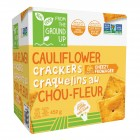 Real Food From The Ground Up Cauliflower Cheddar Crackers 452 Grams