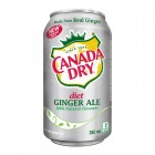 Canada Dry Diet Ginger Ale 12/355mL