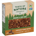 Taste of Nature Organic Granola Bars - Chocolate Peanut Butter - 5/35 Grams