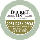 Bucket List Coffee Roastery Copa Dark Decaf K-Cups - 24/Box
