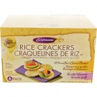 Crunchmaster Rice Cracker Rounds Assortment 6/100g