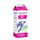Dairyland 2% Partly Skimmed Milk - 1 Litre Carton