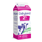 Dairyland 2% Partly Skimmed Milk 2 Litre Carton