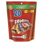 Nestle Candy Chocolate Favourites Snack Size 20 Count