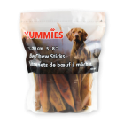 "Yummies 5-8"" Beef Chew Sticks - 680 Grams"