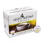 Wicked Awesome French Vanilla Coffee K-Cups - 24/Box