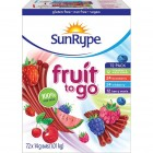 SunRype Fruit To Go Fruit Strips - Assorted - 72/14g