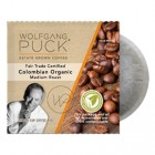 Wolfgang Puck Fair Trade Colombian Organic Coffee Pods 18/Box