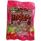 Gummy Zone Sour Cherry Tinglers Hanging Bags 24/120 g