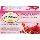 Twinings Pomegranate & Raspberry Herbal Tea - 20/Pack
