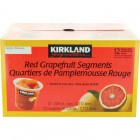 Kirkland Signature Red Grapefruit Segments - 12 Pack