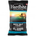 Hardbite Potato Chips - Rock Salt & Vinegar  - 30/23g