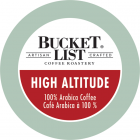 Bucket List Coffee Roastery  High Altitude K-Cups - 24/Box