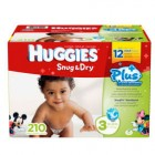 Huggies Diapers - Size 3 - 210 Count