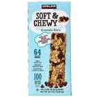 Kirkland Signature Soft & Chewy Granola Bars - Chocolate Chip - 64 Pack / 24 Grams