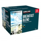 Kirkland Signature Breakfast Blend Fair Trade 110 K-Cup Pods/ Box