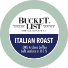 Bucket List Coffee Roastery Italian Roast K-Cups - 24/Box