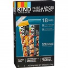 Kind Nuts and Spices Bar Variety Pack 18 ct