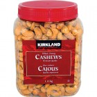 Kirkland Signature Whole Fancy Cashews 1.13kg
