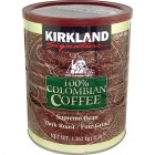 Kirkland Signature Dark Roast Ground Coffee - 100% Colombian - 1.36 Kg (2.99 lb)