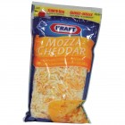 Kraft Shredded Cheese Mozzarella & Cheddar 2/500g