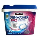 Kirkland Signature Dishwasher Detergent Packs - 115pk