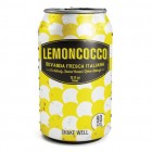 Jones Soda Lemoncocco Bevanda Fresca Italiana 12/355 mL