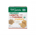 RW Garcia Organic Lentil and Turmeric Crackers - 850 Grams