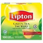 Lipton Green Tea RFA, 1 Cup Enveloped 100 ct